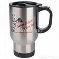 14oz Stainless Steel Mug
