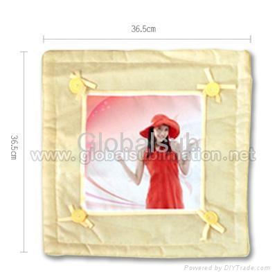 Customized Design Yellow Pillow  1