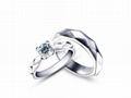 指纹结婚对戒