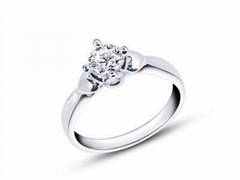 指纹婚戒指纹戒指心领神会