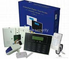intelligent wireless home gsm alarm system KI-G16