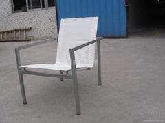 Alu. Textlin leisure chair