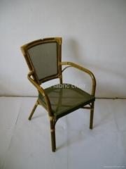 Alu. fabric chair