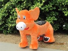 毛绒动物玩具车/毛绒电瓶车/电动毛绒玩具车/电动骑马/电动车