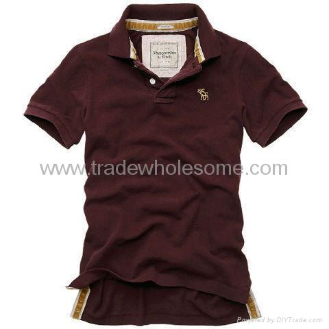 Cheap abercrombie fitch t shirts men 39 s polo collar short for Cheap polo collar shirts
