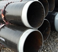 Transport usage spiral welded pipe