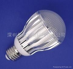 大功率LED贴片球泡灯5W