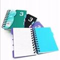 A6 spiral notebook 1