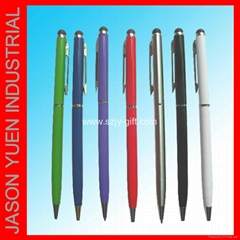 2 in 1 touch screen stylus pen