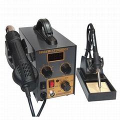 HUAKO 705D 2-in-1 Digital Display Unsoldering Station with Hot Air