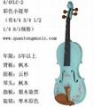 彩色小提琴VLC-2北京小提琴