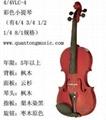 彩色小提琴VLC-4北京小提琴