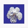 The inert alumina ceramic ball 1