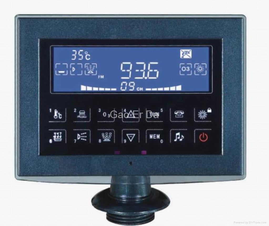 GD-350 Bathtub Controller with Touchable LCD 1