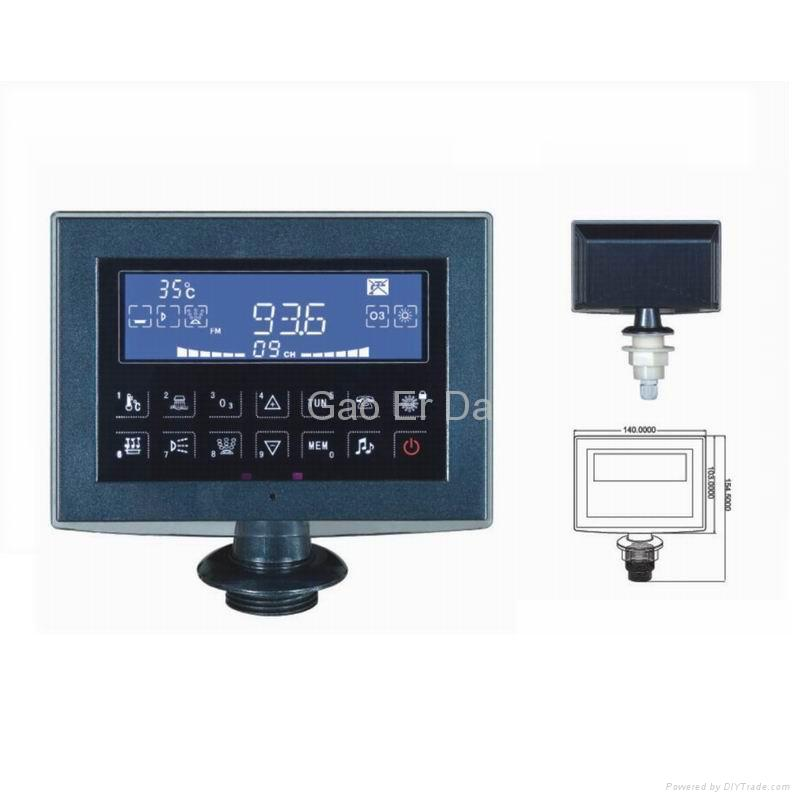 GD-350 Bathtub Controller with Touchable LCD 2