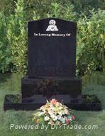 Ireland Hebeiblack granite headstone 1