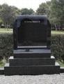 Ireland Hebeiblack granite headstone 3