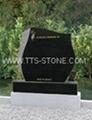 Ireland Hebeiblack granite headstone 5