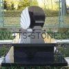 Poland black headstone gravestones  4