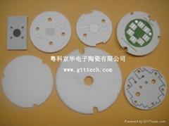 供應LED陶瓷熱沉和各種電子陶瓷產品