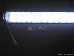 中山LED單色七彩護欄管生產批發