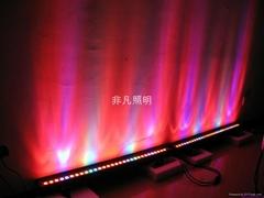 供应LED大功率12W七彩洗墙灯