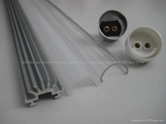 Led tube casings