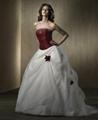 Attractive Wedding Dress/Bridal Dress (HS-035) 1