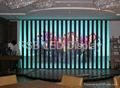 LED strip display