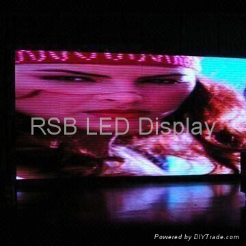 Indoor P7.62 LED Display/video screen with High Refresh Rate 1