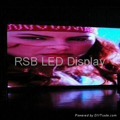 Indoor P7.62 LED Display/video screen with High Refresh Rate