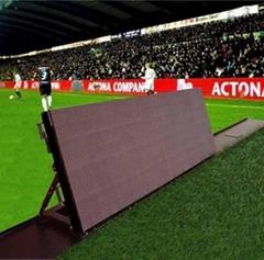 Sport Perimeter football LED display screen signs outdoor stadium display