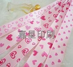 印花罗纹带,服装饰品辅料