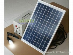 portable solar home power system