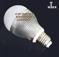 批发NTDX-E27-7W调光球泡灯 2