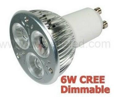 新款推广可调光LED射灯GU10-3W/4W/6W 1