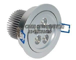 可控硅调光新品LED大功率筒灯5*2W 1