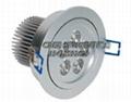 可控硅调光新品LED大功率筒灯