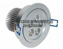 可控硅調光新品LED大功率筒燈5*2W