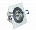 可控硅调光新品LED大功率筒灯5*2W 2