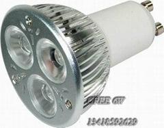 CREE LED射燈3W調光