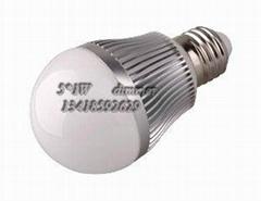SZ新品大功率G60/7*1W调光球泡灯批发