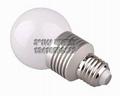 SZ新品大功率G60/7*1W调光球泡灯批发 3