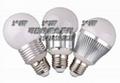 SZ新品大功率G60/7*1W调光球泡灯批发 4