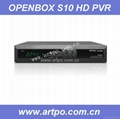 2011 hot selling!!!openbox S10 hd pvr open box s10 hd digital satellite receiver