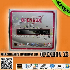 2013 Lastest arabic iptv tv box Openbox x5 Sunplus 1512A Processor with gprs  (Hot Product - 1*)