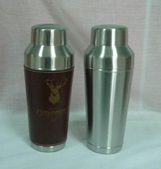SGS approved stainless steel cocktail shaker