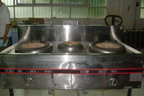 醇基不锈钢单炒炉 2