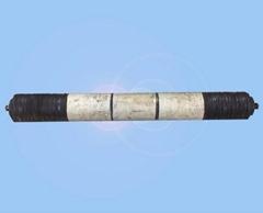 鋼管套陶瓷錐形和高耐磨托輥