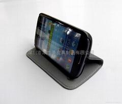 韩国三星牛皮 N7100手机保护套